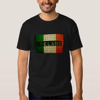 Ireland Woven Flag T Shirt