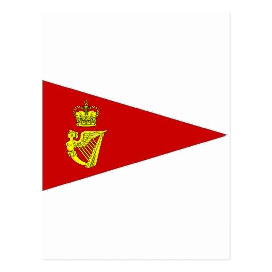Ireland Yacht Pennant Postcard