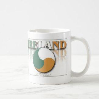 Ireland Ying Yang Mugs