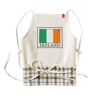 Ireland Zazzle HEART Apron