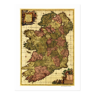 IrelandPanoramic MapIreland Postcards