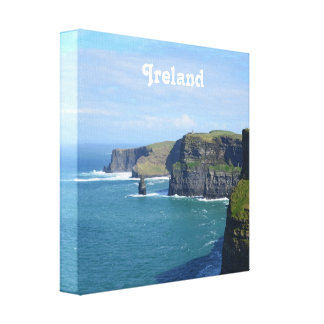 Ireland's Cliffs of Moher Canvas Prints