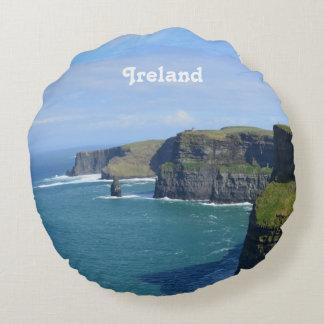 Ireland's Cliffs of Moher Round Pillow