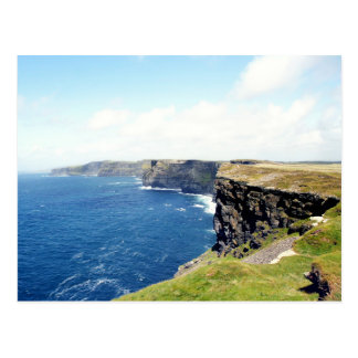 Ireland's Cliffs of Moher Postcard
