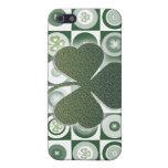 Irelands finest lucky shamrocks - ADD WORDING iPhone 5 Case