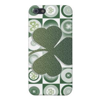 Irelands finest lucky shamrocks - ADD WORDING iPhone SE/5/5s Cover