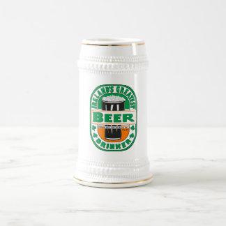 Ireland's Greatest Beer Drinker Beer Mug. 18 Oz Beer Stein