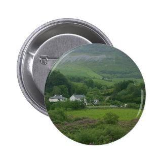 Irelands Green Fild Pinback Button