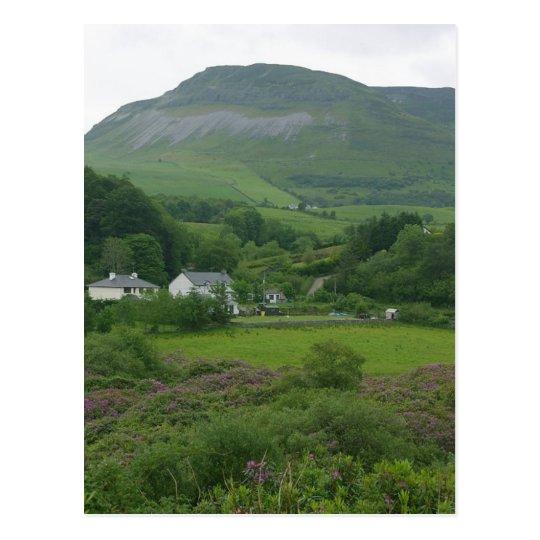 Irelands Green Fild Postcard