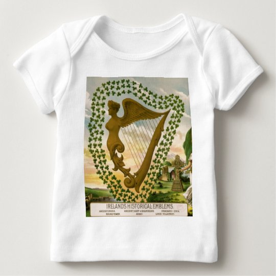 Ireland's Historical Emblems Baby T-Shirt