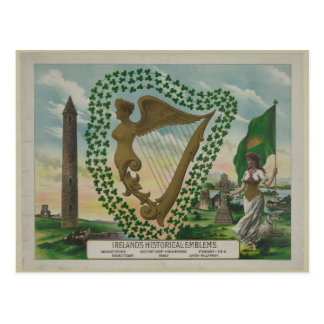 Ireland's Historical Emblems Post Card