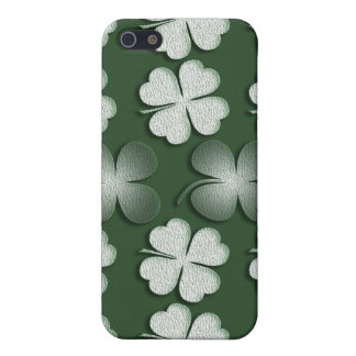 Irelands luckiest clover - ADD WORDING iPhone SE/5/5s Cover
