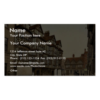 Ireland's Mansion, Shrewsbury, England classic Pho Double-Sided Standard Business Cards (Pack Of 100)