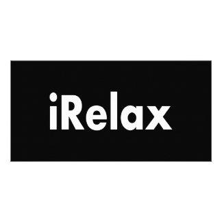 iRelax Customized Photo Card