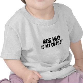 Irene Adler es mi camiseta del niño del copiloto