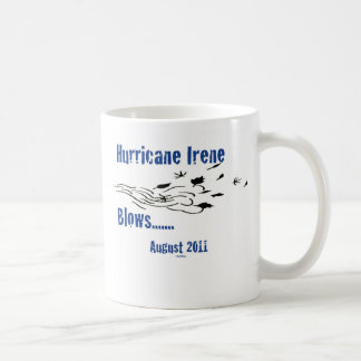 Irene Blows Classic White Coffee Mug
