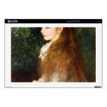 "Irene Cahen d Anvers by Pierre Renoir 17"" Laptop Skin"