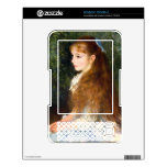 Irene Cahen d Anvers by Pierre Renoir Skin For The Kindle 3