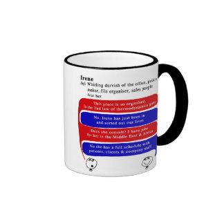 irene coffee mug