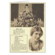 Irene Rich Turkey Dressing Recipe Card