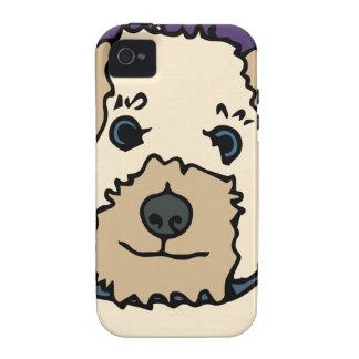 Irene the Terrier Dog Cartoon iPhone 4 Case