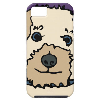 Irene the Terrier Dog Cartoon iPhone 5 Case