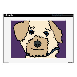 Irene the Terrier Dog Cartoon Laptop Skins