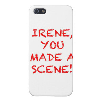 Irene You Made A Scene Cover For iPhone 5