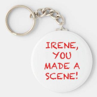 Irene You Made A Scene Key Chains