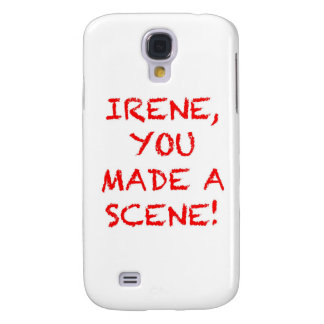 Irene You Made A Scene Samsung Galaxy S4 Cases