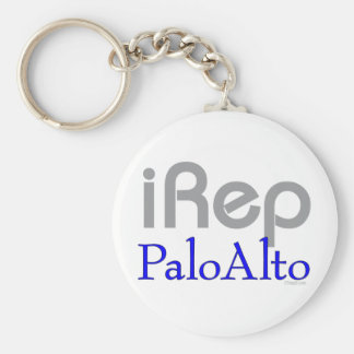 iRep-PaloAlto Cali T-shirts Basic Round Button Keychain