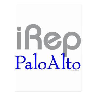 iRep-PaloAlto Cali T-shirts Postcard