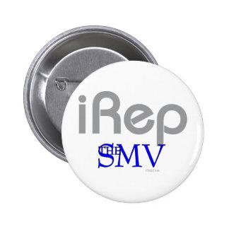 iRep-San Mateo Village Cali 2 Inch Round Button