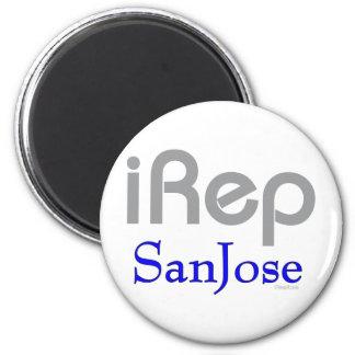 iRep-SanJose Cali California 2 Inch Round Magnet