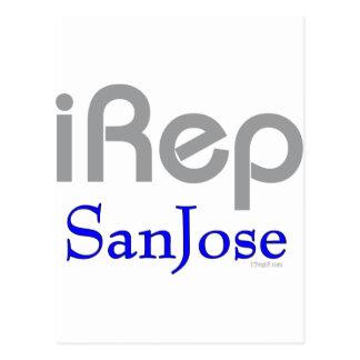 iRep-SanJose Cali California Postcard
