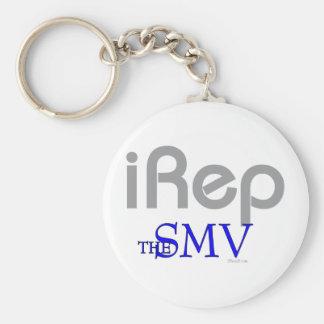 iRep-SMV San Mateo VIllage CA Basic Round Button Keychain