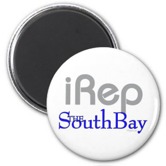 iRep-SouthBay California T-shirt 2 Inch Round Magnet