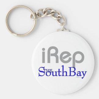 iRep-SouthBay California T-shirt Basic Round Button Keychain