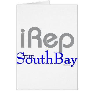 iRep-SouthBay California T-shirt Greeting Card