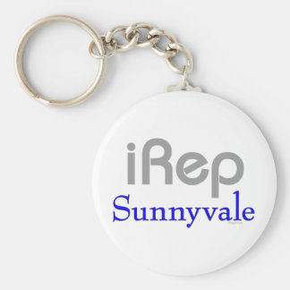 iRep-Sunnyvale Cali T-shirts Basic Round Button Keychain