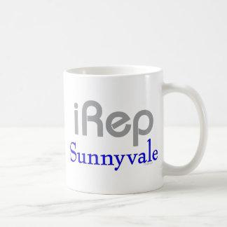 iRep-Sunnyvale Cali T-shirts Classic White Coffee Mug