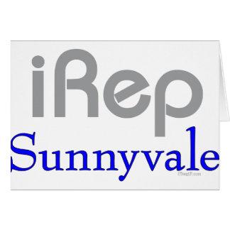 iRep-Sunnyvale Cali T-shirts Greeting Card