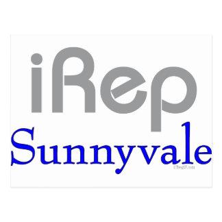 iRep-Sunnyvale Cali T-shirts Postcard