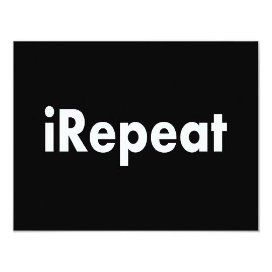 iRepeat Card