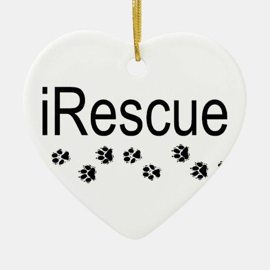 iRescue Dogs Ornament