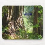 iRETIRE mousepad Redwoods Trees
