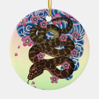 Irezumihebi Ceramic Ornament