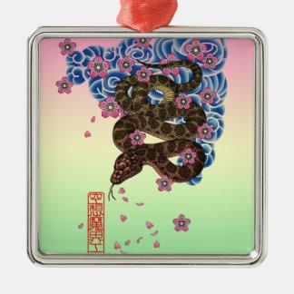 Irezumihebi Metal Ornament