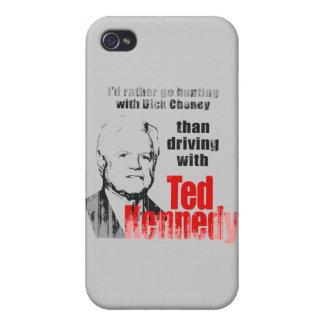 Iría bastante a cazar con Dick Cheney. Faded.png iPhone 4 Funda