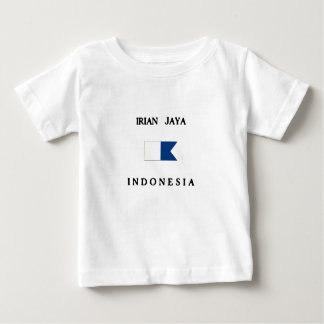 Irian Jaya Indonesia Alpha Dive Flag Baby T-Shirt